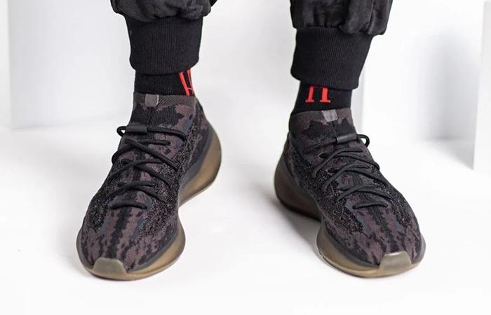 Yeezy Boost 380 Onyx Black FZ1270 on foot 02