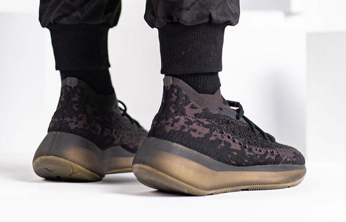Yeezy Boost 380 Onyx Black FZ1270 on foot 03
