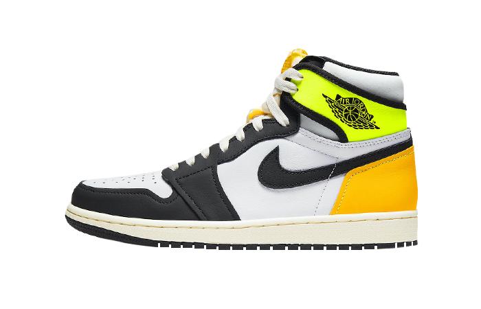 Air Jordan 1 High Volt Gold White 555088-118 01