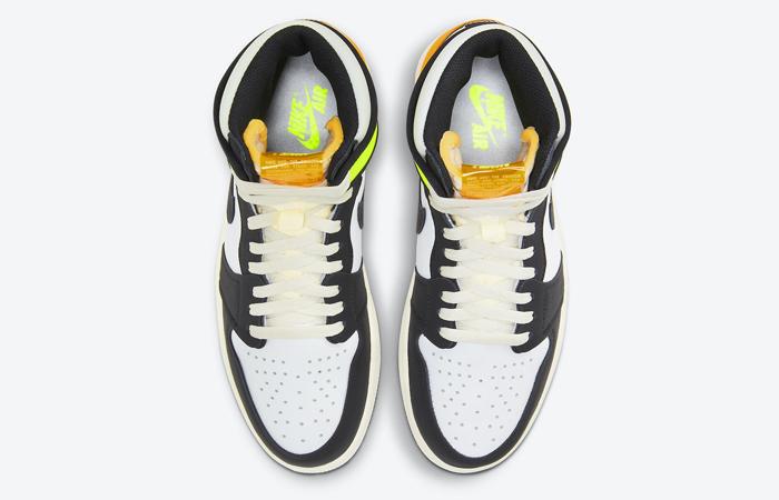 Air Jordan 1 High Volt Gold White 555088-118 07