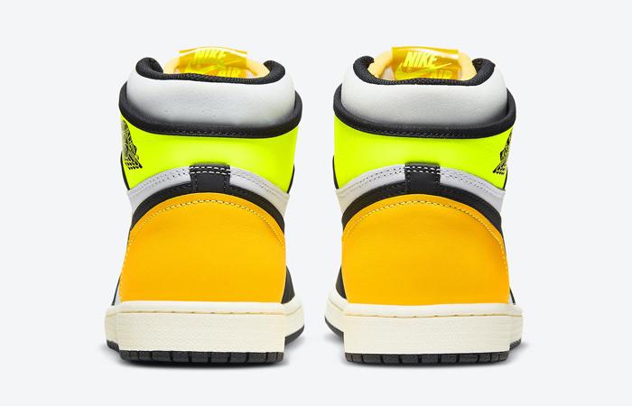 Air Jordan 1 High Volt Gold White 555088-118 08