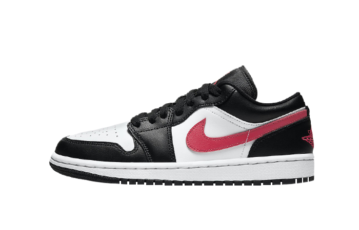 Air Jordan 1 Low Black Siren Red DC0774-004 01
