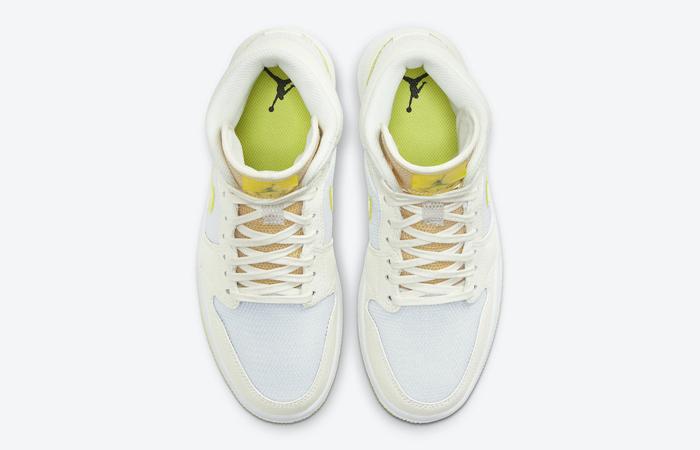Air Jordan 1 Mid SE White Voltage Yellow DB2822-107 04
