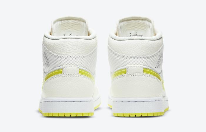 Air Jordan 1 Mid SE White Voltage Yellow DB2822-107 05