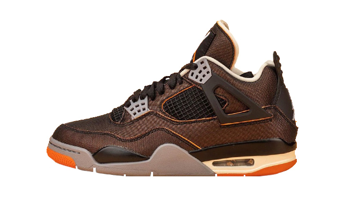 Air Jordan 4 Starfish Smoke Grey Black Womens CW7183-100 01