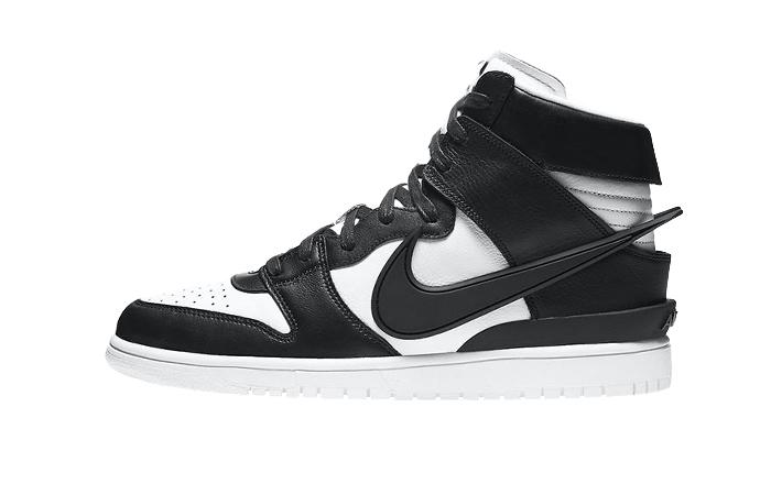 Ambush Nike Dunk High Core Black White CU7544-001 01