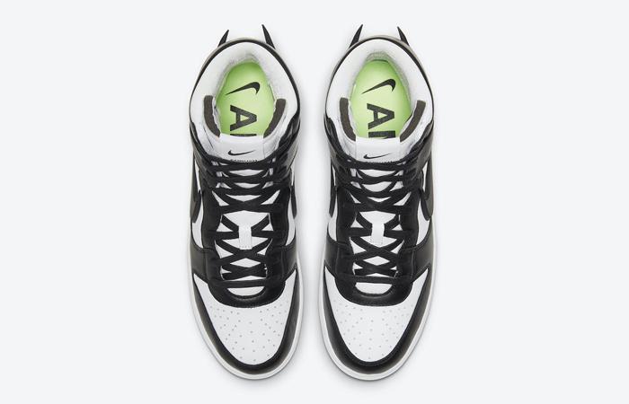 Ambush Nike Dunk High Core Black White CU7544-001 04