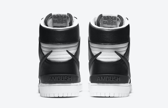 Ambush Nike Dunk High Core Black White CU7544-001 05