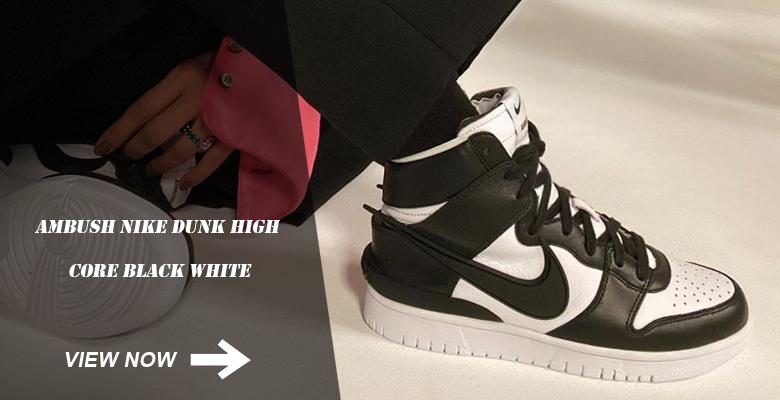 Ambush Nike Dunk High Core Black White