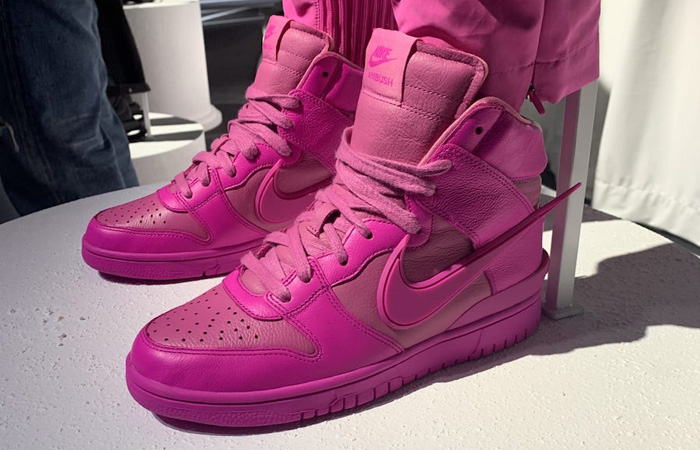 Ambush Nike Dunk High Lethal Pink CU7544-600 02