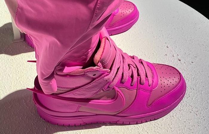 Ambush Nike Dunk High Lethal Pink CU7544-600 04