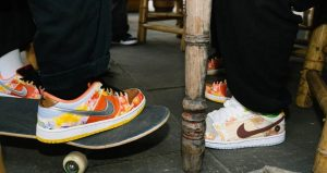 Artistic Look Of Nike SB Dunk Low Street Hawker Honoring Chinese Cuisines 01