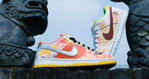 Artistic Look Of Nike SB Dunk Low Street Hawker Honoring Chinese Cuisines