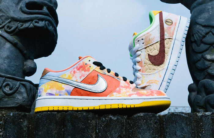 Artistic Look Of Nike SB Dunk Low Street Hawker Honoring Chinese Cuisines f