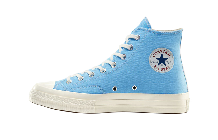 Comme des Garcons Play Converse Chuck Taylor All Star 70 High Blue 168300C 01