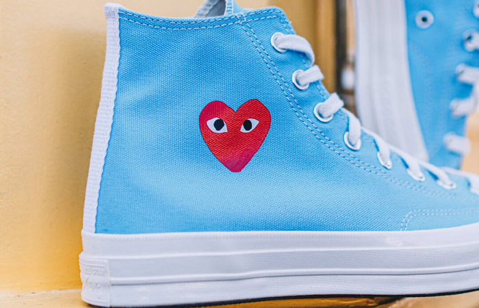 Comme des Garcons Play Converse Chuck Taylor All Star 70 High Blue 168300C 04