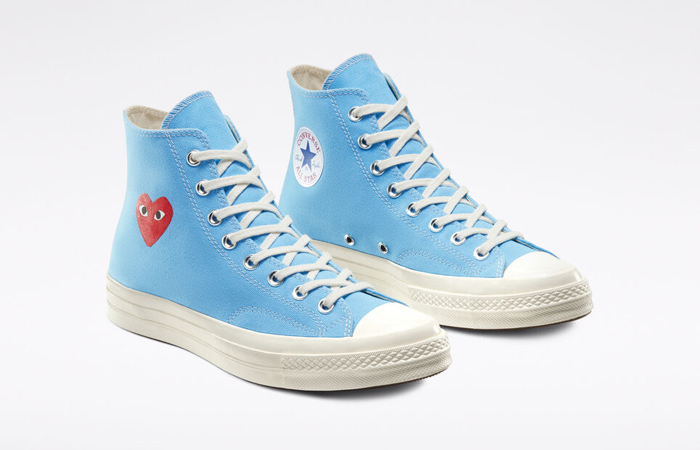 Comme des Garcons Play Converse Chuck Taylor All Star 70 High Blue 168300C 05
