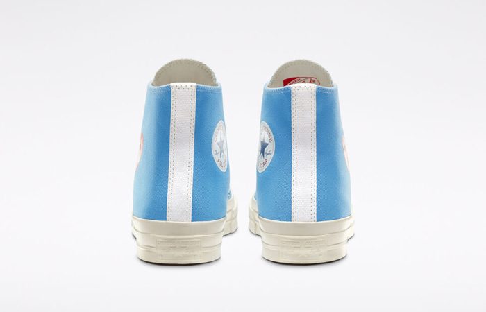 Comme des Garcons Play Converse Chuck Taylor All Star 70 High Blue 168300C 08