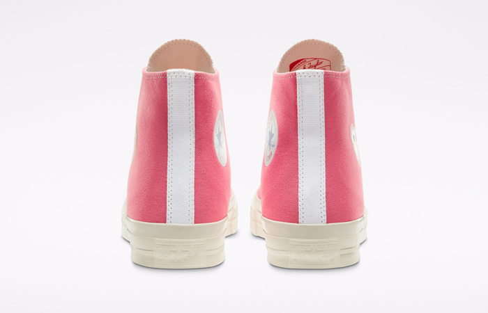 Comme des Garcons Play Converse Chuck Taylor All Star 70 High Pink 168301C 08