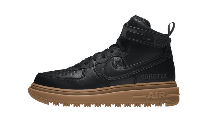 Gore-Tex Nike Air Force 1 High Black Brown CT2815-001 01