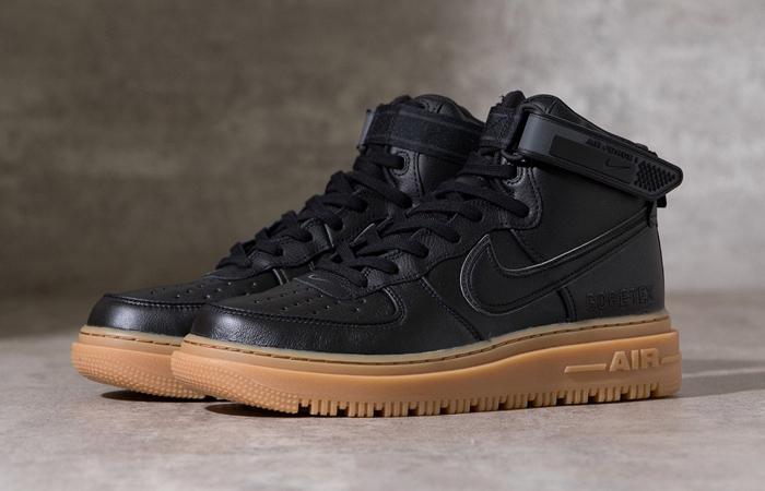 Gore-Tex Nike Air Force 1 High Black Brown CT2815-001 02