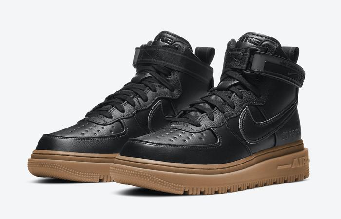 Gore-Tex Nike Air Force 1 High Black Brown CT2815-001 05