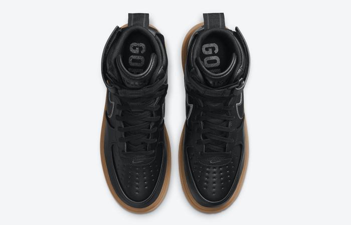 Gore-Tex Nike Air Force 1 High Black Brown CT2815-001 06
