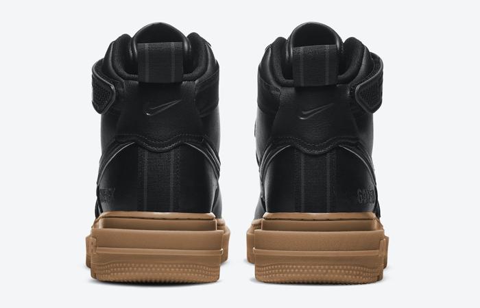 Gore-Tex Nike Air Force 1 High Black Brown CT2815-001 07