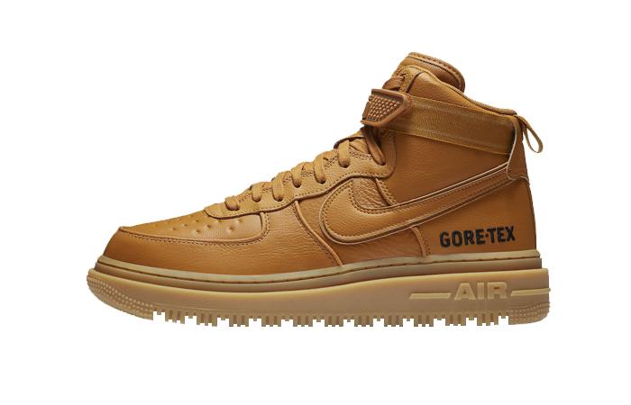 Gore-Tex Nike Air Force 1 High Wheat Brown CT2815-200 01