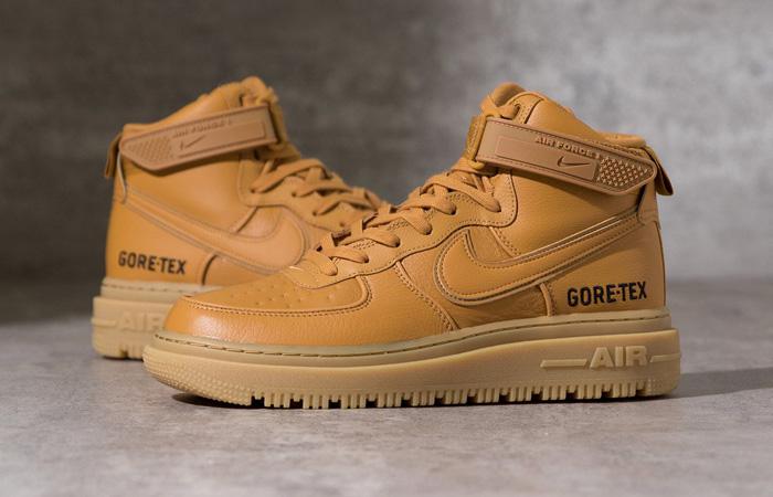 Gore-Tex Nike Air Force 1 High Wheat Brown CT2815-200 02