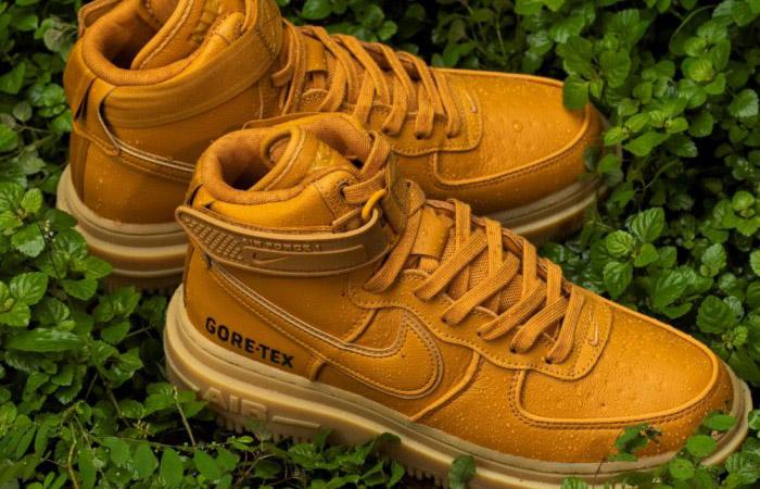 Gore-Tex Nike Air Force 1 High Wheat Brown CT2815-200 04