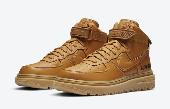 Gore-Tex Nike Air Force 1 High Wheat Brown CT2815-200 05