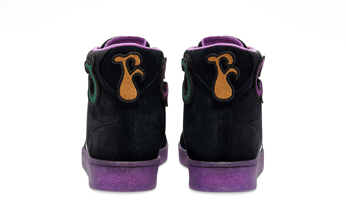 Joe Freshgoods Converse Pro Leather High Black Purple 170645C 04