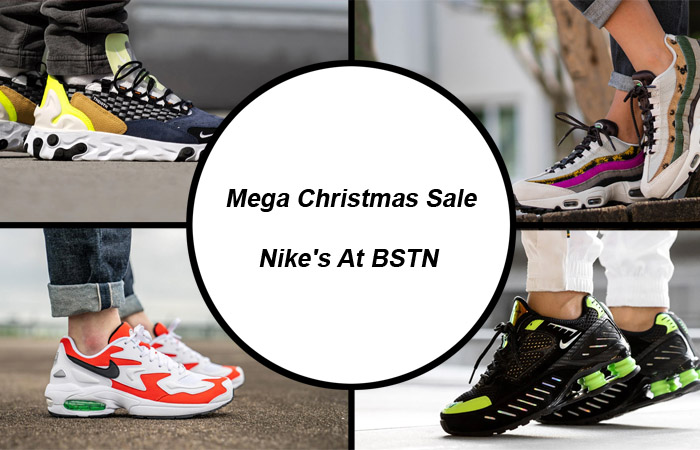 Mega Christmas Sale On Nike's At BSTN Save 45 to 65% f