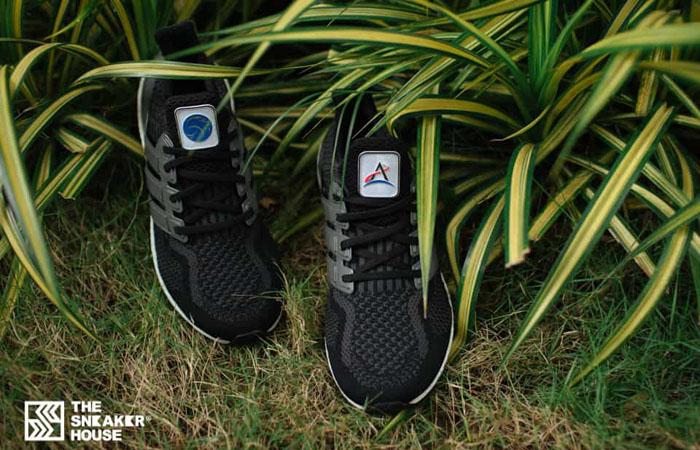 NASA adidas Ultra BOOST DNA Core Black Carbon FZ1855 07