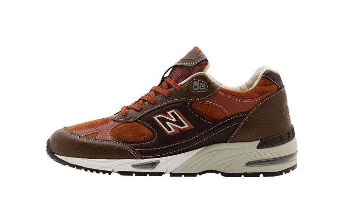 New Balance 991 Chocolate Brown M991BTG 01