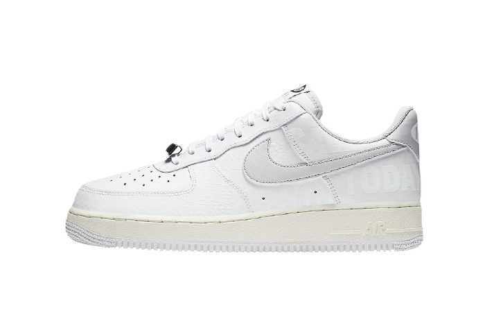 Nike Air Force 1 Low 07 Premium White Grey CJ1631-100 01