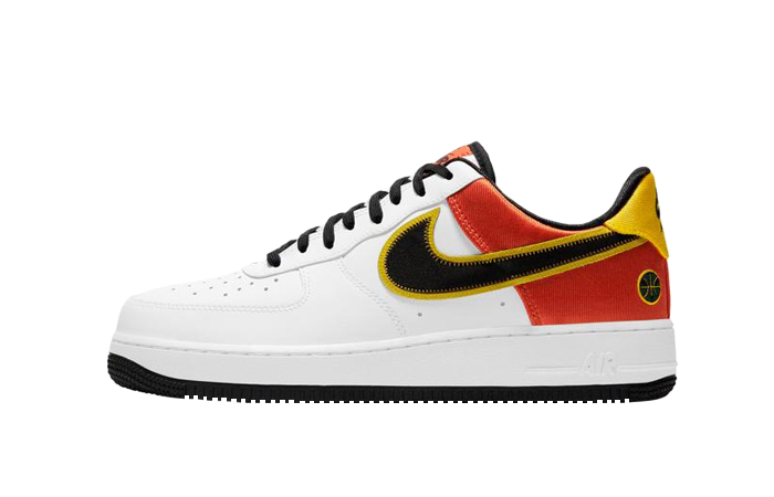 Nike Air Force 1 Low Raygun White Black CU8070-100 01