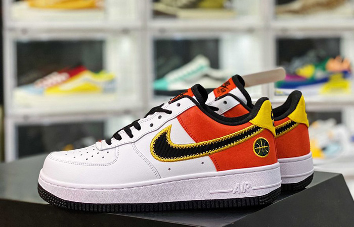 Nike Air Force 1 Low Rayguns White Black CU8070-100 - Fastsole