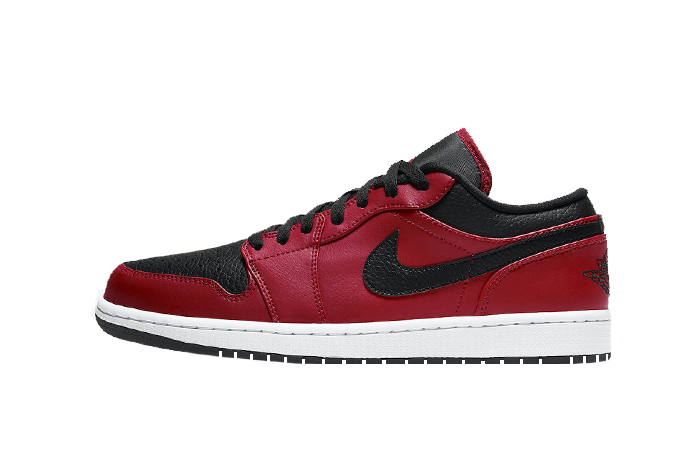 Nike Air Jordan 1 Low Bred White 553558-605 01