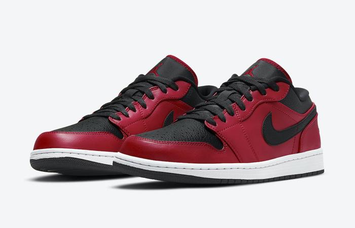 Nike Air Jordan 1 Low Bred White 553558-605 02