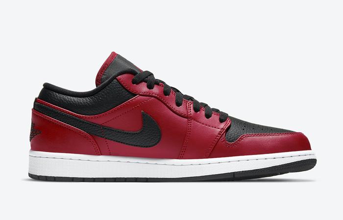 Nike Air Jordan 1 Low Bred White 553558-605 03
