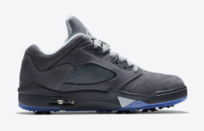 Nike Air Jordan 5 Low Golf Light Graphite Ice Blue CU4523-005 03