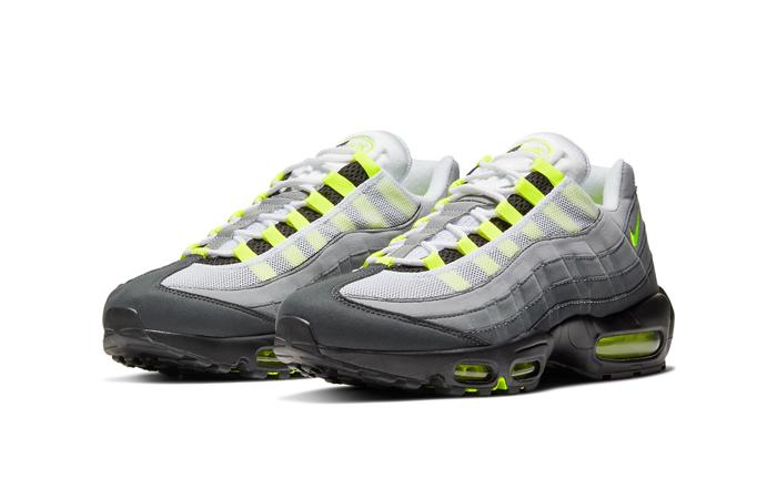 Nike Air Max 95 OG Neon Yellow Light Graphite CT1689-001 05