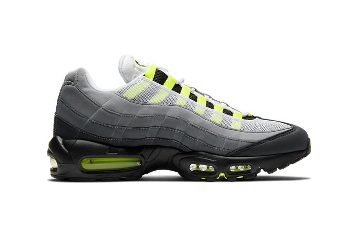 Nike Air Max 95 OG Neon Yellow Light Graphite CT1689-001 06