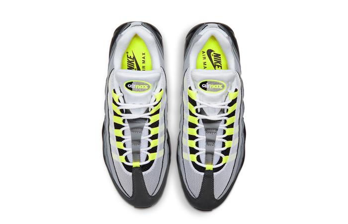 Nike Air Max 95 OG Neon Yellow Light Graphite CT1689-001 07