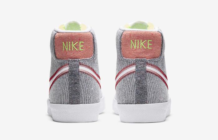 Nike Blazer Mid 77 Recycled Jerseys White Grey CW5838-022 05
