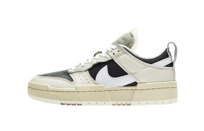 Nike Dunk Low Disrupt Black Pale Ivory DD6620-001 01