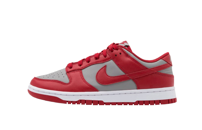 Nike Dunk Low UNLV Grey University Red DD1391-002 01
