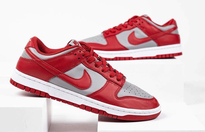 Nike Dunk Low UNLV Grey University Red DD1391-002 02